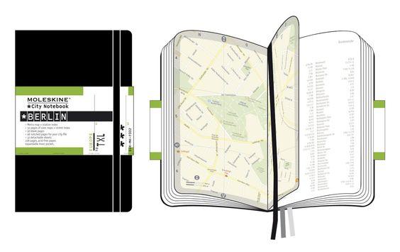 Moleskine CN003 City Notebook Berlin, Pocket, Hardcover, schwarz: Moleskine: Amazon.de: Bürobedarf & Schreibwaren