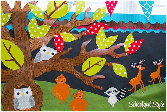 woodland classroom theme | Woodland Animals Classroom Theme