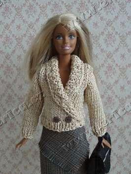 Béžový svetr se šálovým límcem
