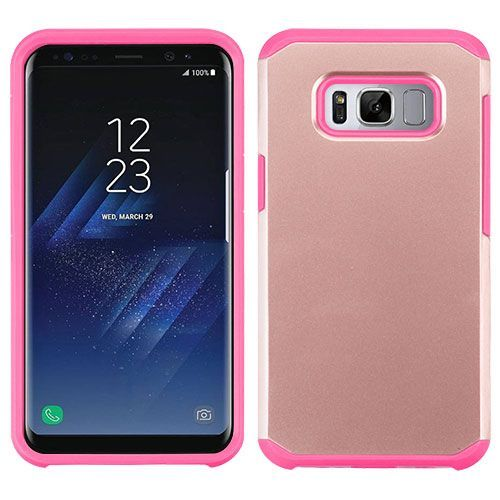 Samsung Galaxy S8 Rose Gold Hot Pink Astronoot Phone Protector Cover In 2020 Samsung Galaxy Galaxy Galaxy S8