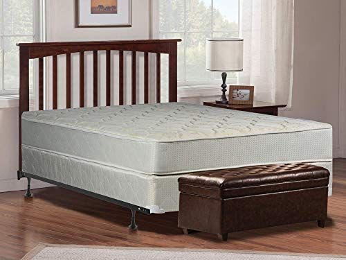 New Full Size Mattress Box Spring And Bed Frame Innerspring
