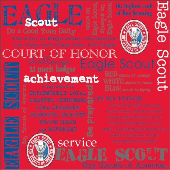 Essays on Eagle scout