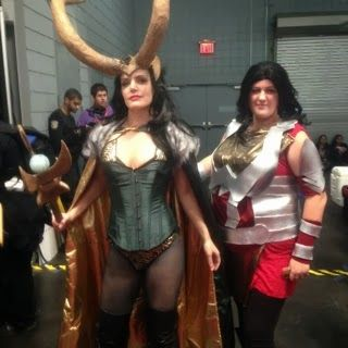 Fangirl Review: NYCC 2013: My Impressions - Loki Cosplay