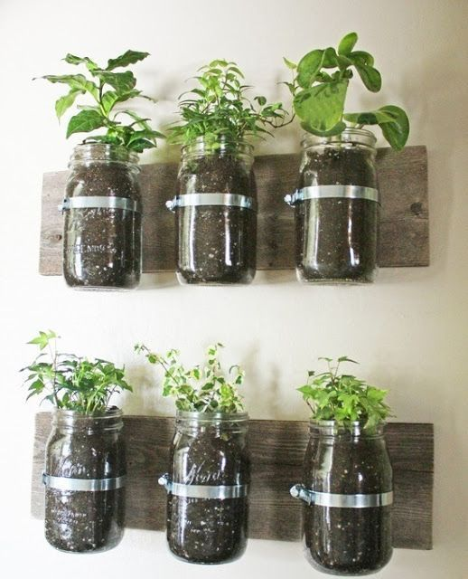 Vintage Jars - another use!