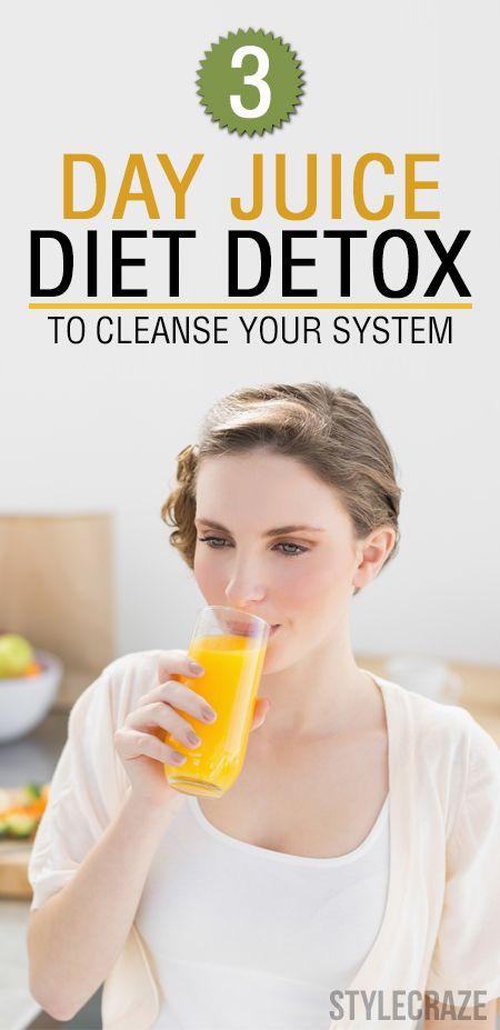 Juice diet, Diet detox and Detox plan on Pinterest