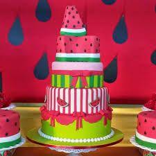 Resultado de imagem para festa de aniversarii da melancia