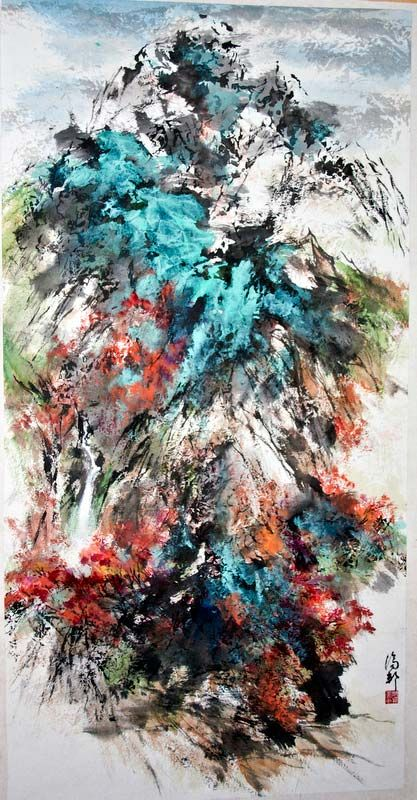 Li Chi Pang 李 濟 邦, la transformación de la pintura –
