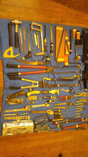 Rescue hand tool kit man vs machine gear fire rescue pinterest hand tools hands and - Div checker tool ...