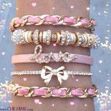 Pink Sparkle   Bracelet   ChichiMe