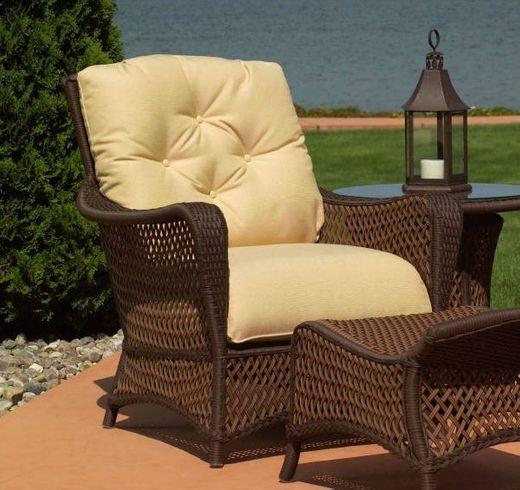 Lloyd Flanders Grand Traverse Chair Cushions Patio Furniture Collection Chair Cushions Lloyd Flanders