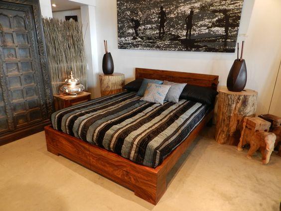 Lit Queen Bois De Grange : Artemano Bed