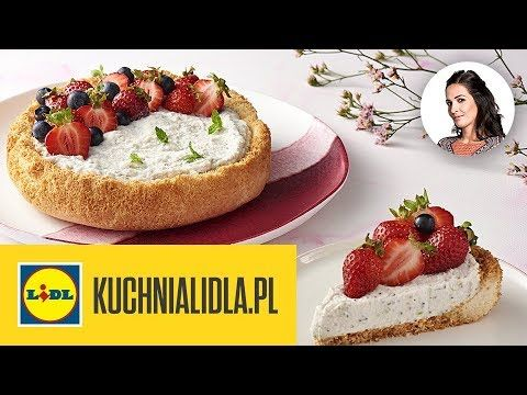 Tarta Kokosowa Z Kremem Kinga Paruzel Kuchnia Lidla Youtube Mini Cheesecake Food Desserts
