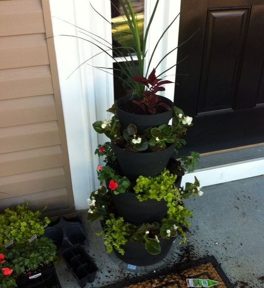 Create Tiered Planters