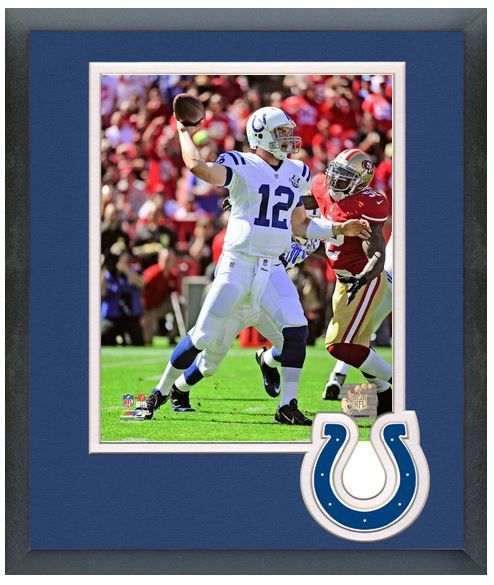 "Andrew Luck 2013 Indianapolis Colts - 11"" x 14"" Matted and Framed Photo"