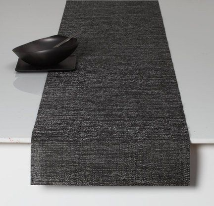 """Chilewich Boucle Table Runner, Grey 14"""" X 72"""" by Chilewich. $58.00. Design was the desire to interpret the luxury of fine knitwear into a woven textile. Bouclé features a very rich texture that provides visual interest. Made in USA. Approximate size: 14"""" X 72"""". Indoor/outdoor use. Bouclé features a very rich texture that provides visual interest, without exhibiting too dominating a pattern. The original concept for the design was the desire to interpret the lux..."""