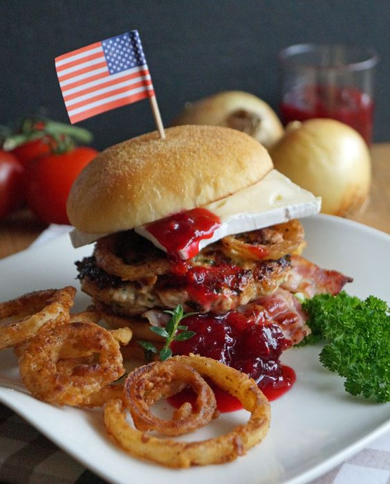 Thanksgiving Turkey Burger