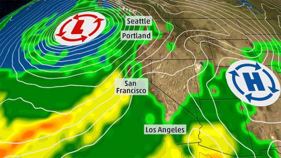 Record Wet October In Parts Of Oregon Washington Oregon Weather The Weather Channel Rainy Season