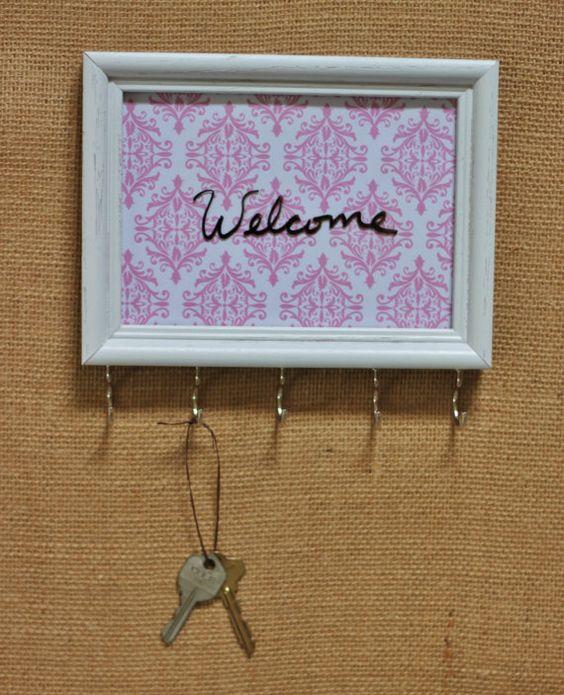 Framed Key/Necklace Holder