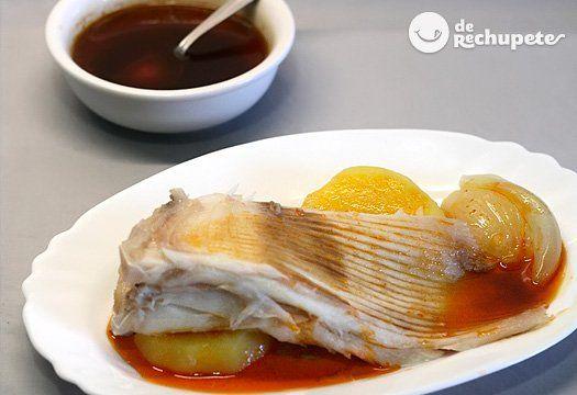 Caldeirada De Raya Receta Tradicional Gallega Receta Recetas De Mariscos Y Pescados Pescados Y Mariscos Recetas