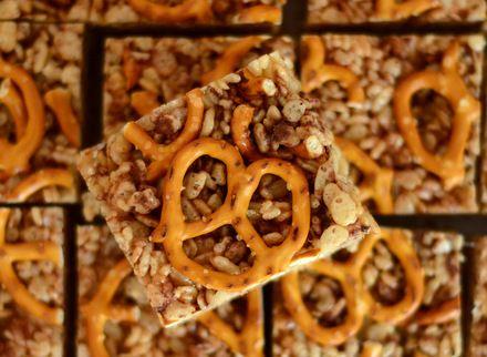 ... treats and more pretzels rice treats chocolate rice crispy treats
