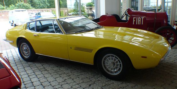 Maserati Ghibli 4,9 SS 1970 yellow vr | by stkone - thanks for 15+ million…