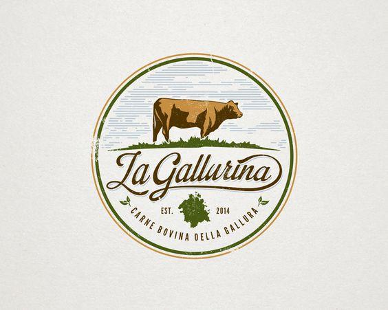 Create a great logo for my organic cattle meat farm. Logo design ...