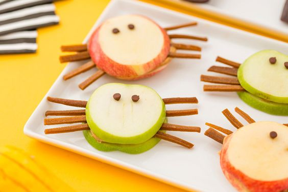 2 Healthy Halloween Snacks to Make With Your Kiddos via Brit + Co.