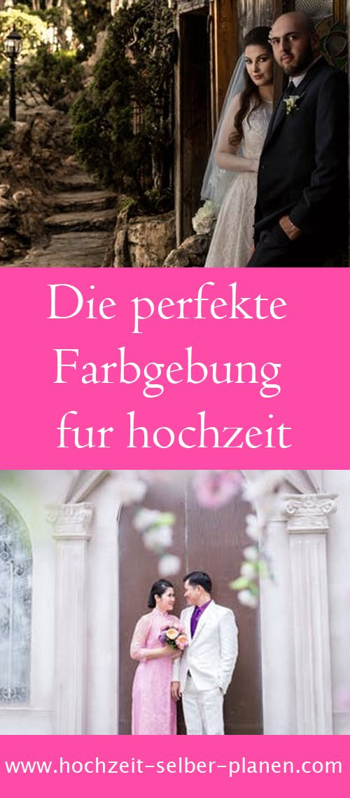 Die Perfekte Farbgebung Braut Hochzeit Brautjungfernkleider