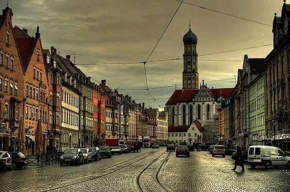 Augsburg, Bayern, Deutschland: