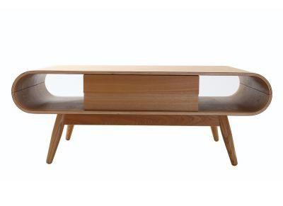 Table basse scandinave bois naturel BALTIK -