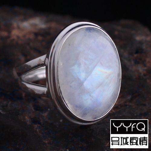 moonstone nepal ring