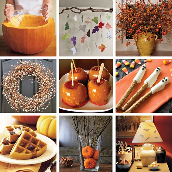 cool fall ideas: Crafty Holiday Edition, Fall Holiday, Fall Crafts, Autumn, Decorating Ideas, Ideas Halloween Thanksgiving, Holidays, Fall Decorating, Thanksgiving Fall Ideas