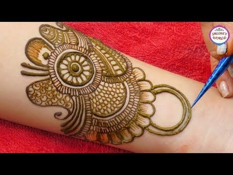 mehndi design arabic full hand