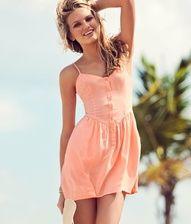 summer dresses: Coral Dress, Dream Closet, Cute Dresses, The Dress, Sun Dresses, Cute Summer Dresses, Peach Dresses