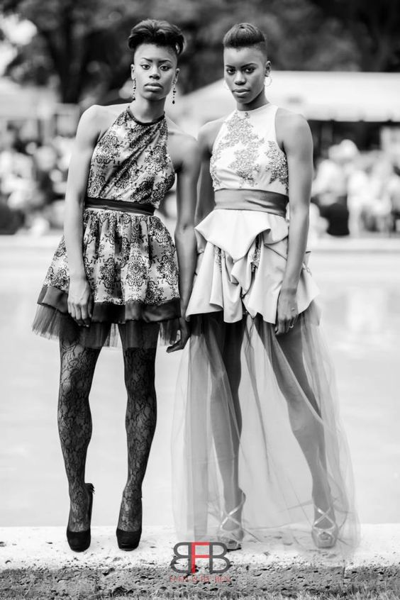 Models: Style Twinz, Adrienne and Dannielle. Photography: Fotos by Ben. Stylist: Chizcera Zoe.