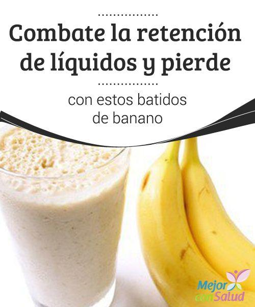 Combate la retención de líquidos y pierde peso con estos