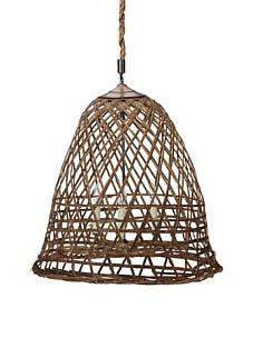 bamboo basket light.