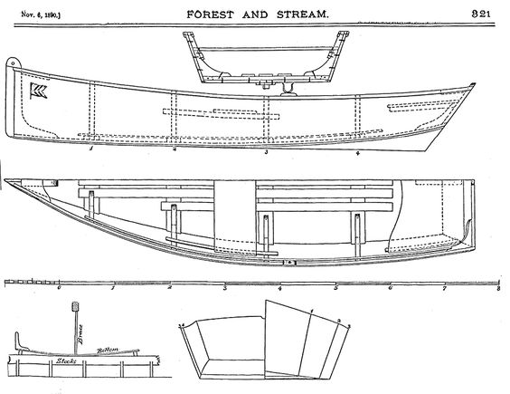 Small wood sailboats building a wooden jon boat with for Small easy to build house plans