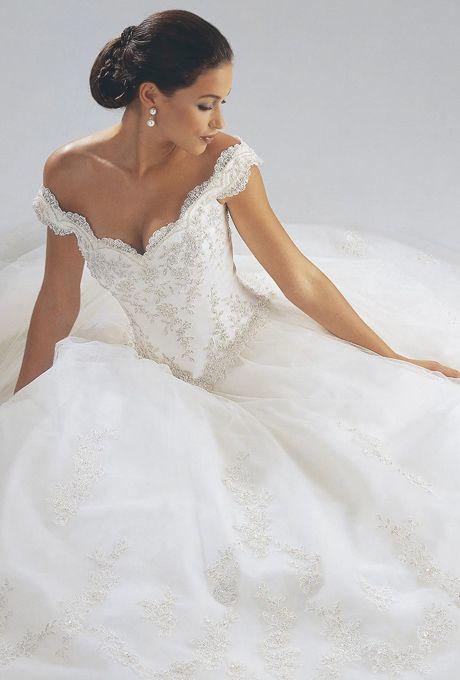 Off-The-Shoulder Wedding Dresses | Brides.com