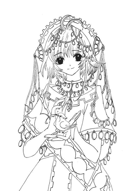 Anime Character Coloring Pages Mermaid Coloring Pages Coloring Pages Coloring Books