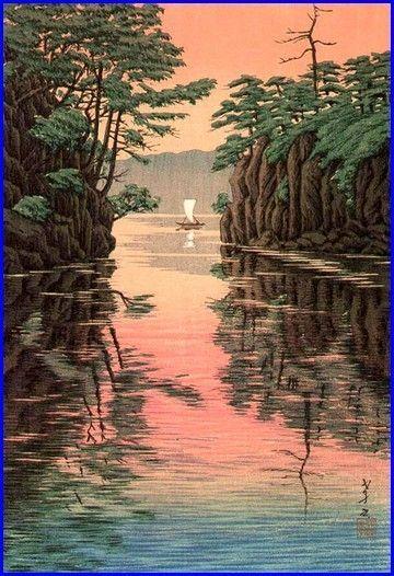 Ito Takashi: 'Lake Towada', 1932