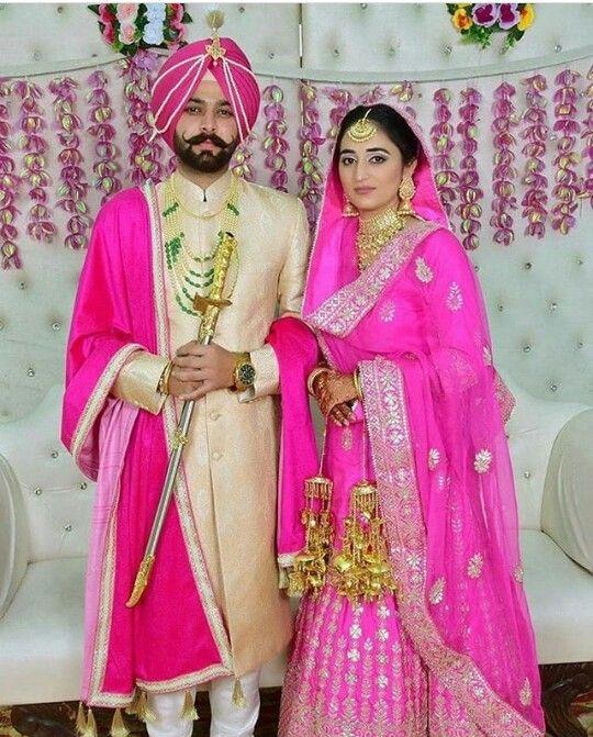 Pin On Sikh Wedding Wear