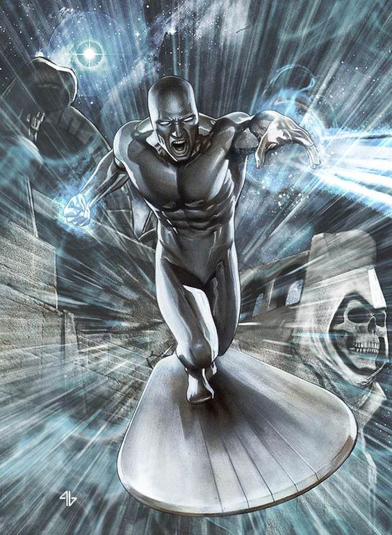 Silver Surfer _ Marvel's War of Heroes _ by Adi Granov