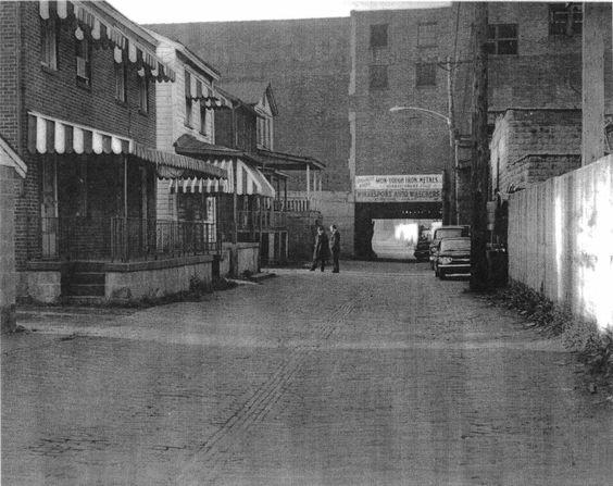 McKeesport's infamous Brick Alley