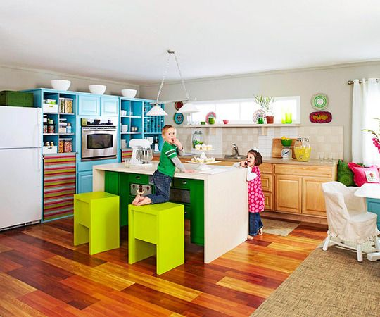 Color Crazy Kitchen