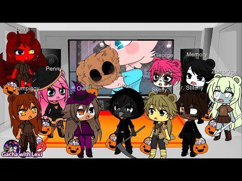 Gacha Club Happy Halloween Part 2 Owell Piggy Characters React To Piggy Memes Gacha Life Youtube In 2021 Happy Halloween Character Piggy