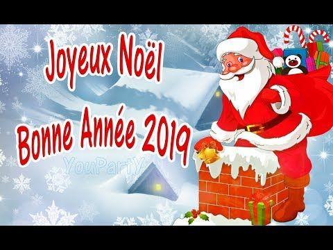 Photos De Joyeux Noel Et Bonne Annee.Joyeux Noel Bonne Annee 2019 Vœux De Noel Et Du Jour De L