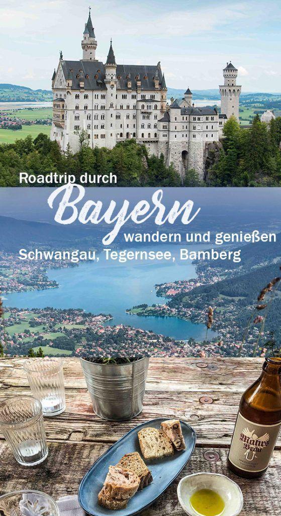 Roadtrip Bayern Neuschwanstein Tegernsee Bamberg Dark Beer Bbq Sauce Urlaub Bayern Bayern Bamberg