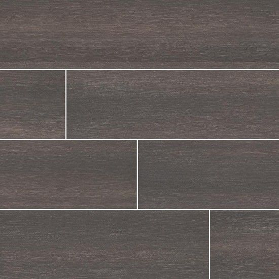 Turin Black 12x24 Ceramic Matte Floor And Wall Tile Tiles Wood Look Tile Floor And Wall Tile