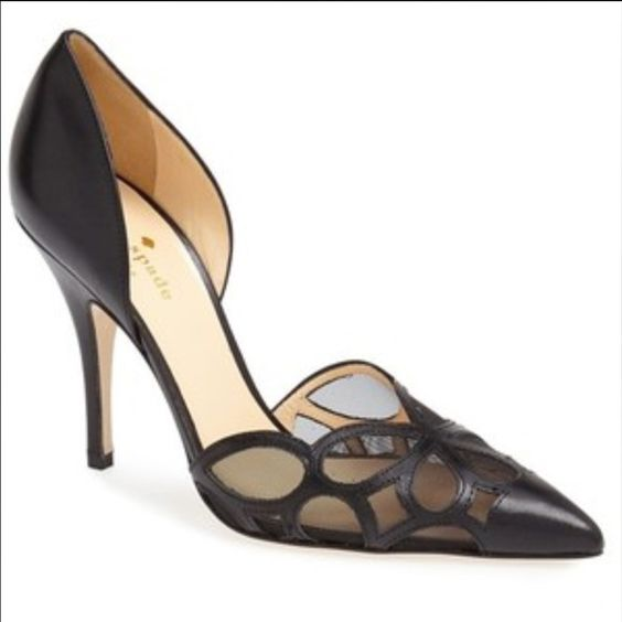 New Kate Spade Lauretta Gorgeous shoe! Would look fantastic with a LBD. New, never worn. No longer have the box. Originally $328, purchased from Nordstrom for $280. No trade/ lowball offers, please. kate spade Shoes Heels